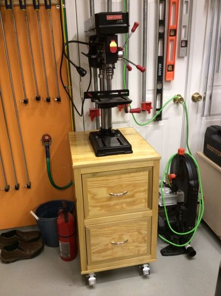 Drill Press Stand By Russ H In The Kreg Owners Community