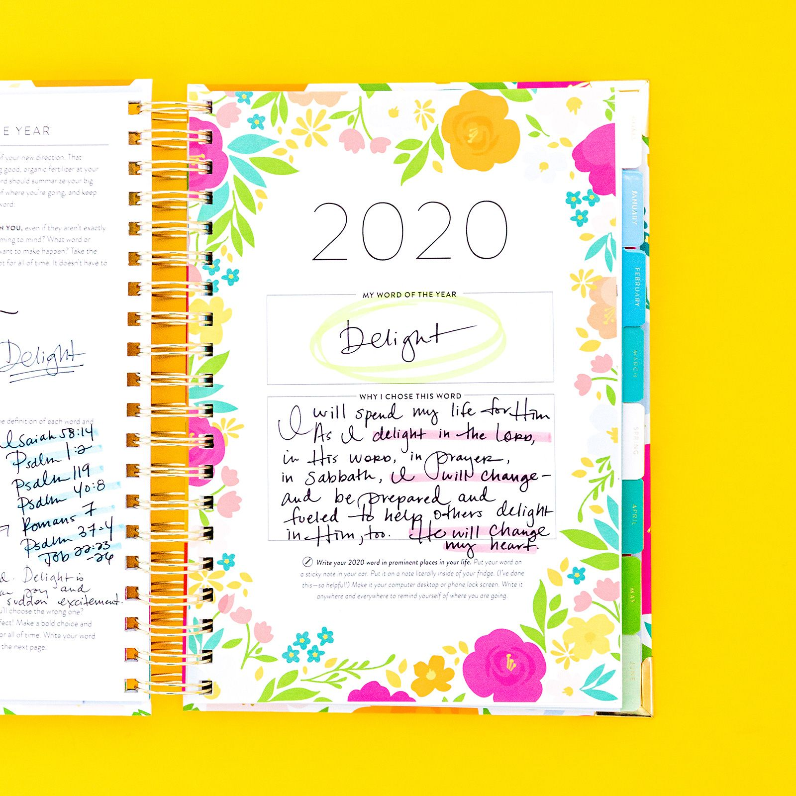 2020 GOAL SETTING, Part 2 How to Choose a Word of the