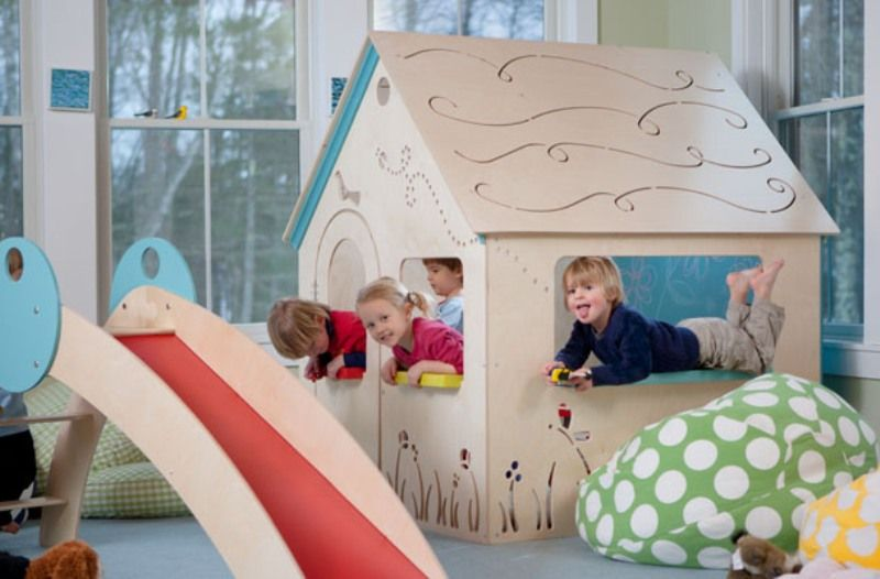 CedarWorks Rhapsody Indoor Playsets And Playhouses Bring Active Play  Indoors | Kidsomania