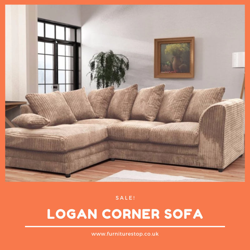 Pin By Furniturestop Uk Ltd On Sofa S Corner Sofa Fabric Corner Sofa Fabric Sofa
