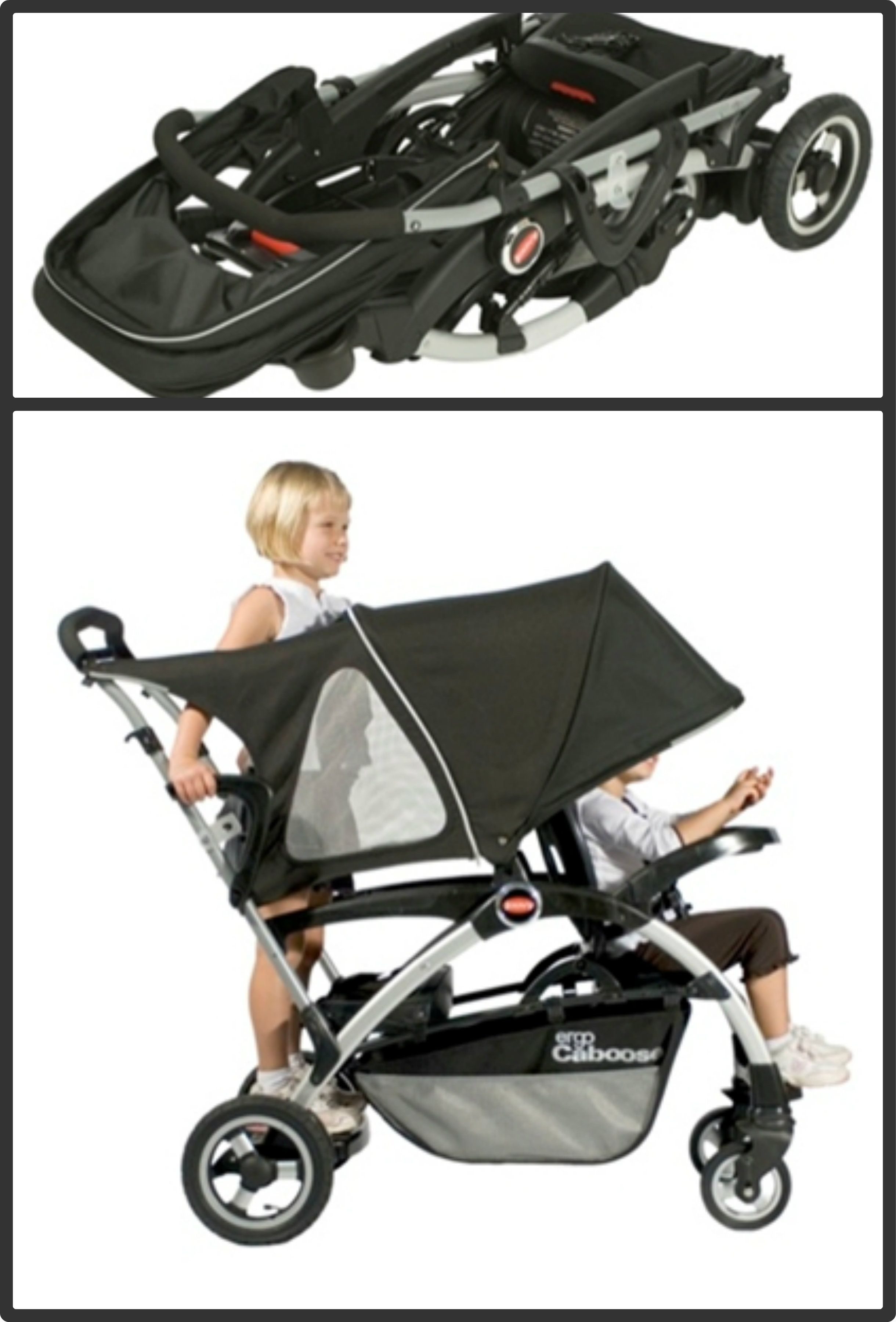 Joovy Ergo Caboose SitnStand Stroller Product Review