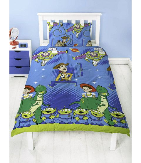 Toy Story Friends Single Duvet Cover And Pillowcase Set Toy Story
