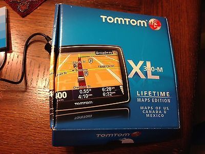 awesome TomTom XL 340M GPS US Canada Mexico Lifetime map