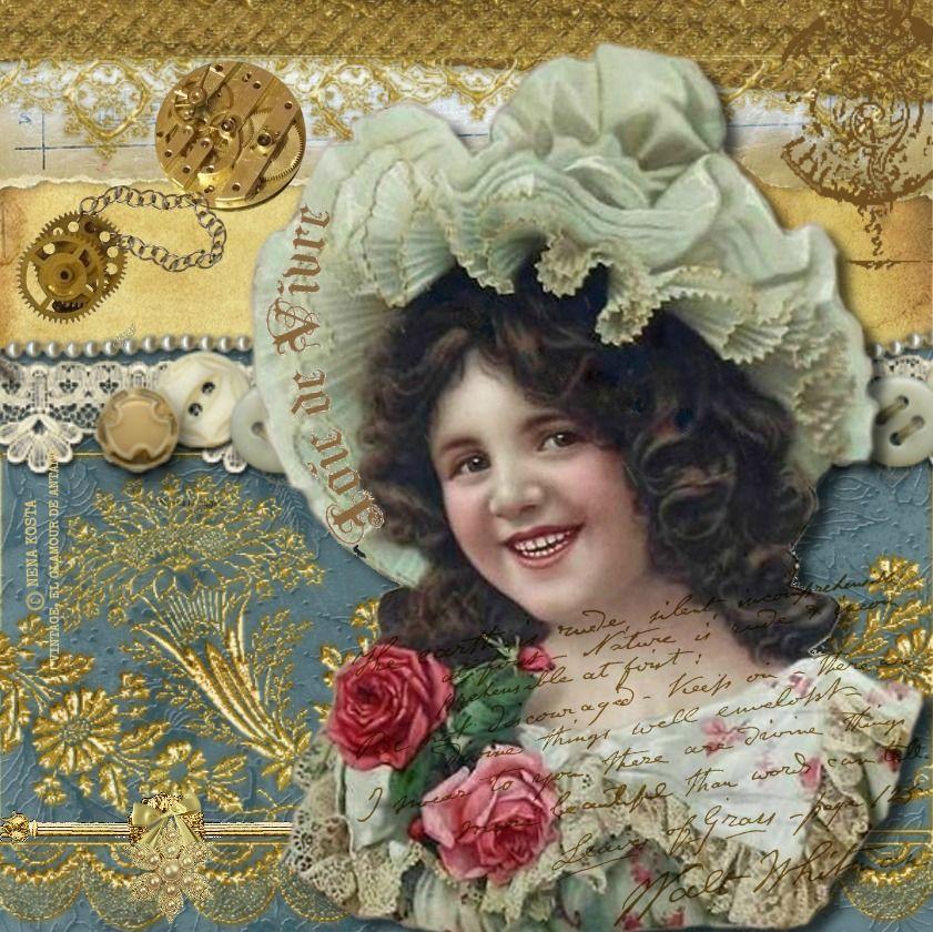 VINTAGE, EL GLAMOUR DE ANTAÑO Mis Diseños Vintage graphics - diseos vintage