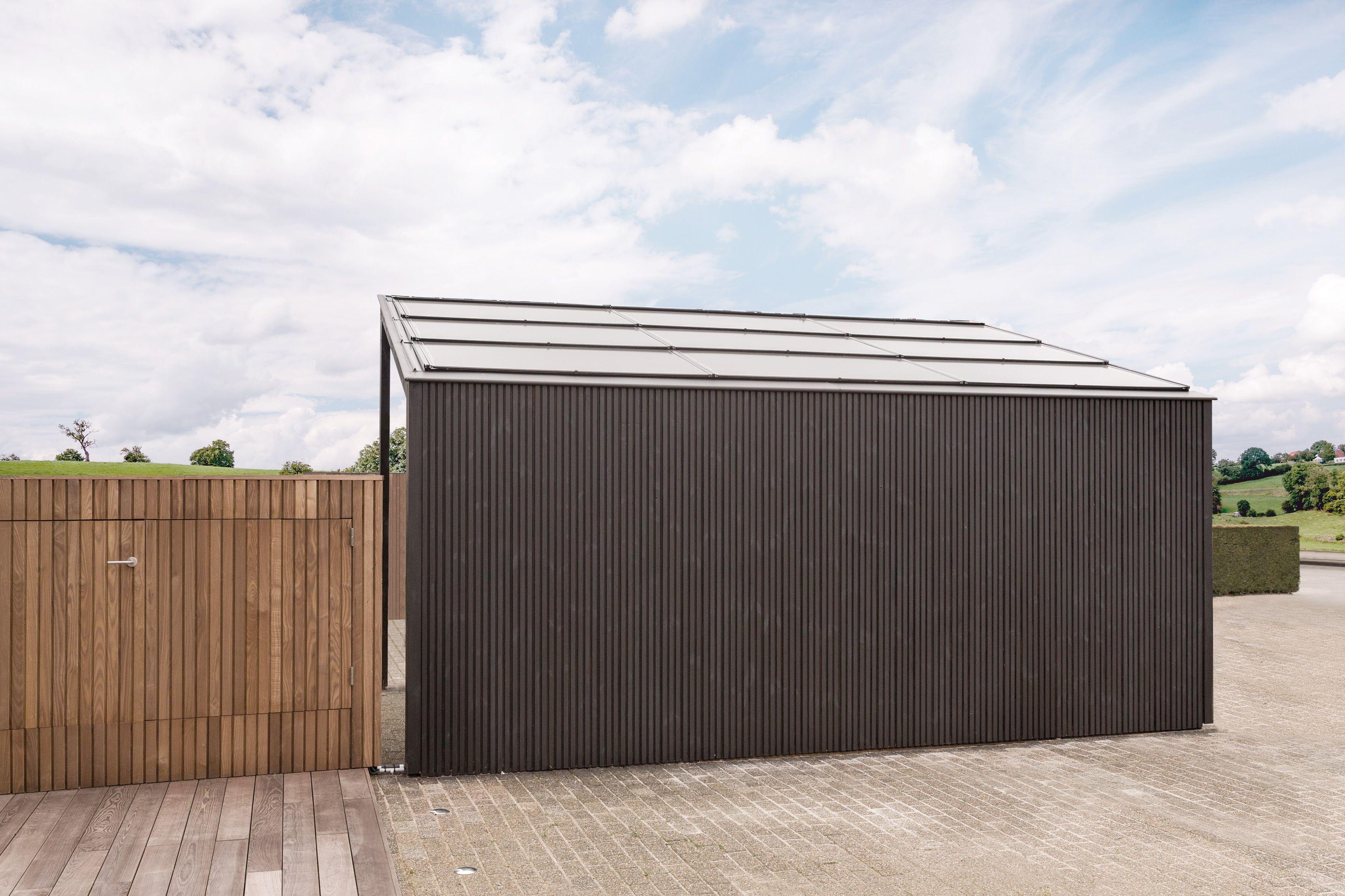 Carpentier zonnepanelen carport solar | Realisaties // Réalisations ...