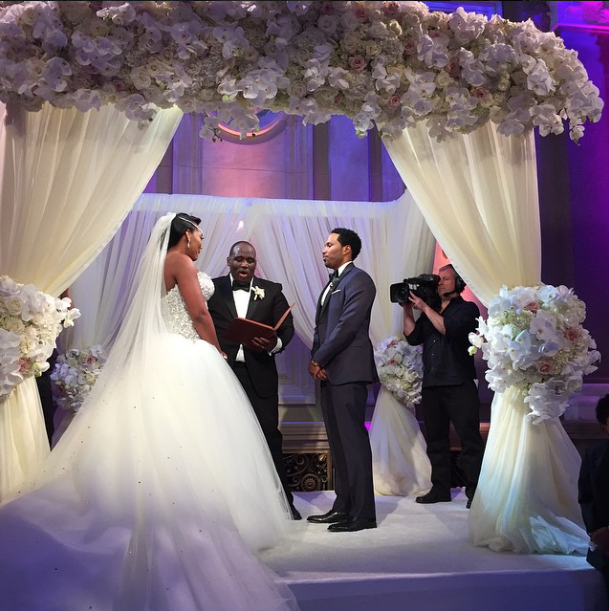 See 40 Pics & Videos From Yandy Smith & Mendeecees Harris' Wedding #LHHWedding
