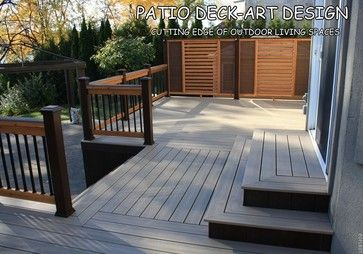 Patio Deck Art Designs Trex Contemporary Porch Montreal By Patio Deck Art Patio Deck Patio Outdoor Design