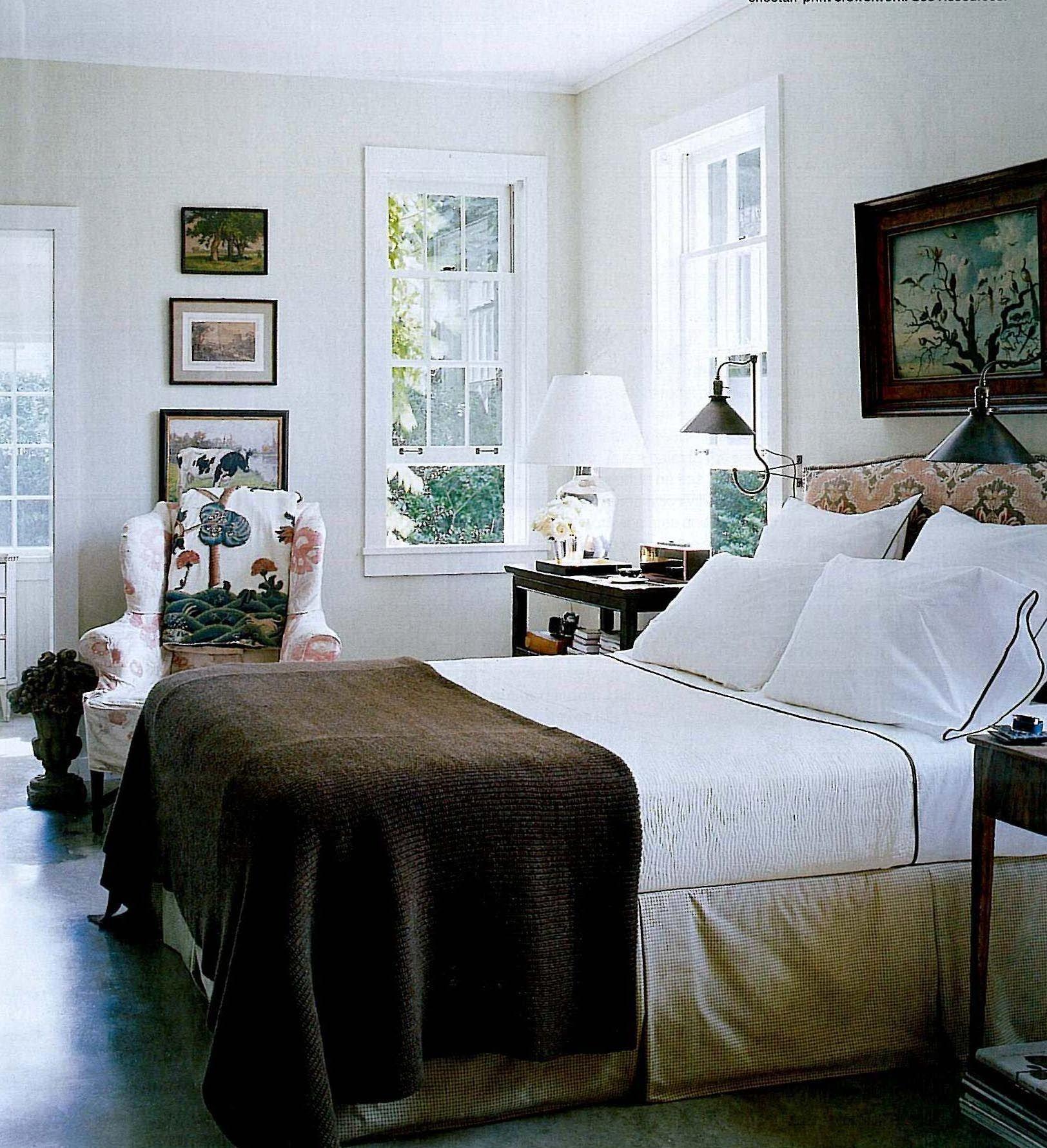 bedroom vintage Schlafzimmer inspirationen, Sommer