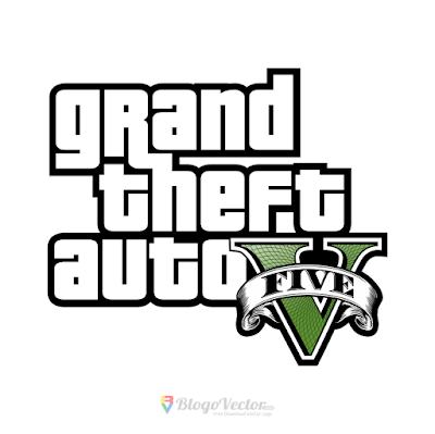 Grand Theft Auto V Logo Vector Grand Theft Auto Rockstar Games Gta 5 Mobile