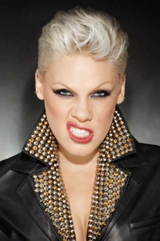 Pink Cause She Rocks Kurzhaarfrisuren Styling Kurzes Haar Gesicht