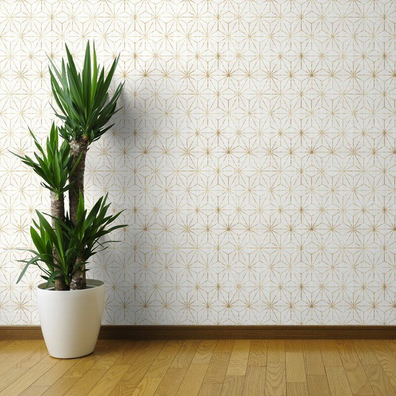 Lofton Geometric Removable Peel And Stick Wallpaper Panel Peel And Stick Wallpaper Geometric Removable Wallpaper Wallpaper Panels
