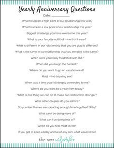 Love This Questions To Ask Each Year On Your Wedding Anniversary This Or That Questions Anniversary Games Wedding Anniversary Quotes