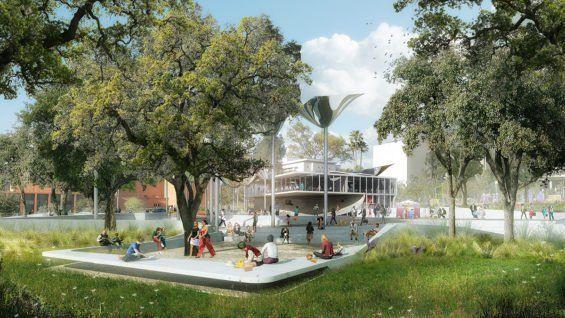Mla Landscape Design Landscape Architecture Parking Design