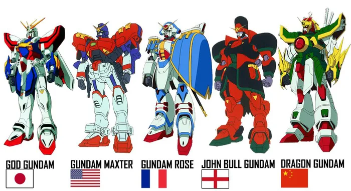 List of Gundams in each countries (G Gundam) in 2020