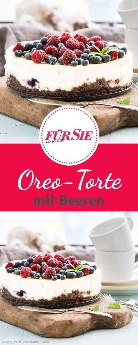 rezept f r oreo torte mit fr chten backen kuchen oreo torte und kekse. Black Bedroom Furniture Sets. Home Design Ideas