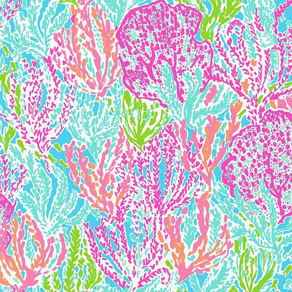 Lilly pulitzer summer 39 13 lets cha cha print printed for Wallpaper prints patterns