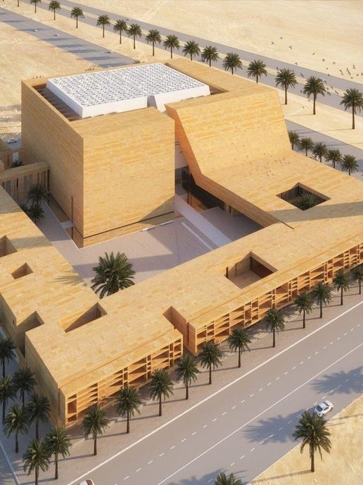 Italian architects designs mosque inspired by traditional Saudi architecture