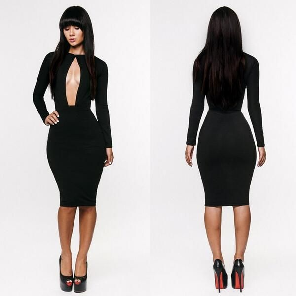 17 Best images about Tight Knee-length Dresses on Pinterest | Sexy ...