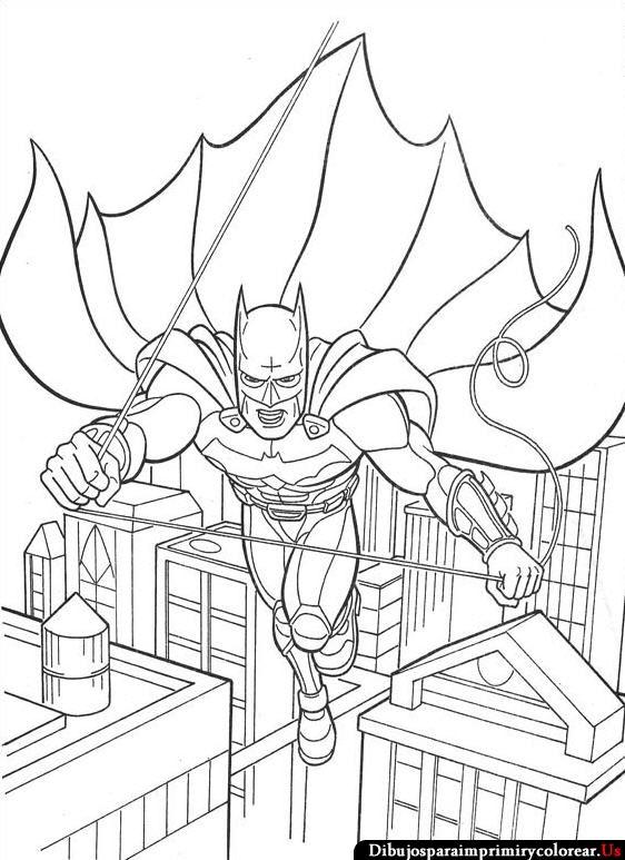 Dibujos de Batman para Imprimir y Colorear | Dibus | Pinterest