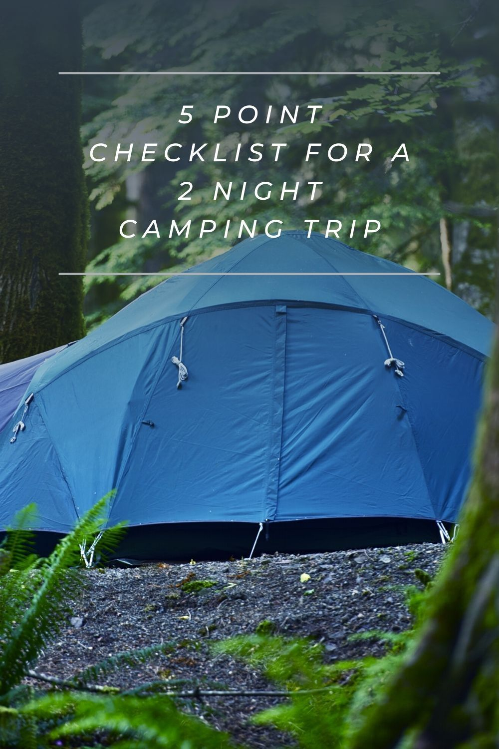 5 Point Checklist For A 2 Night Camping Trip Camping Trips Camping Checklist Camping Essentials Family