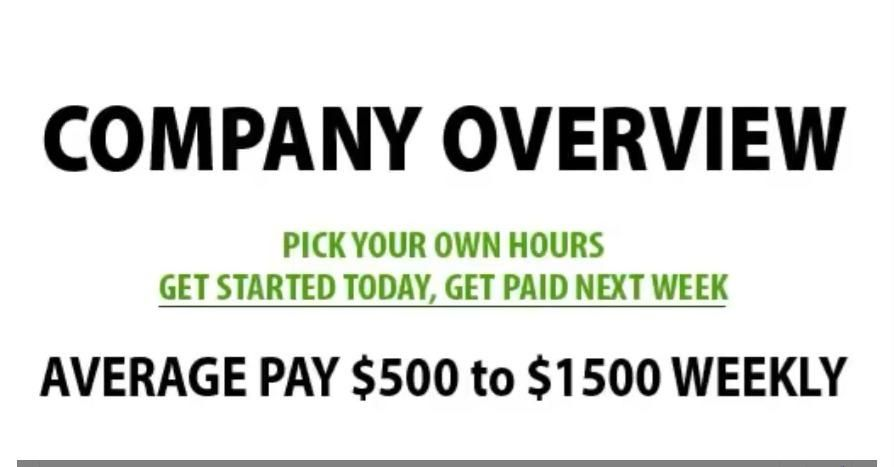 Express Job Services - Start TODAY, Get Paid Next Week ➸ https://hardnosedsecret.leadpages.net/ppd1greg/