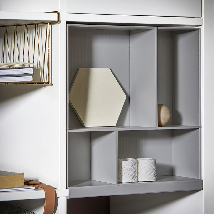 Wohnzimmer Eket Shelving System Kallax Ikea