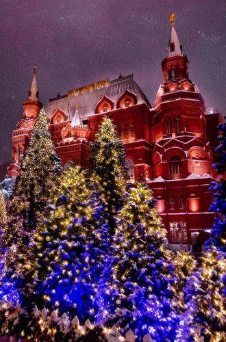 Самые красивые столицы мира в ожидании Рождества ...