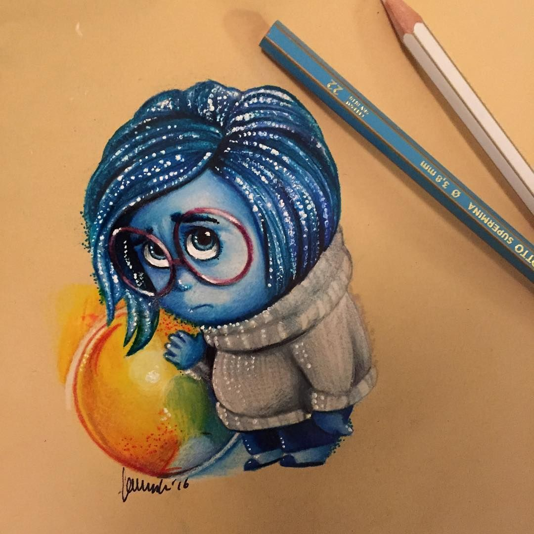 Pin on Art || Colored Pencil | Disney