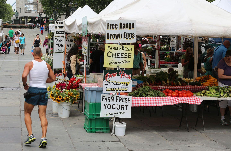 New York food market