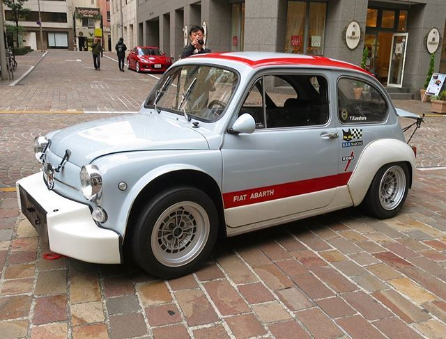 Original 1970 Fiat Abarth 1000 Tc Radiale Berlina Corsa 112 Hp