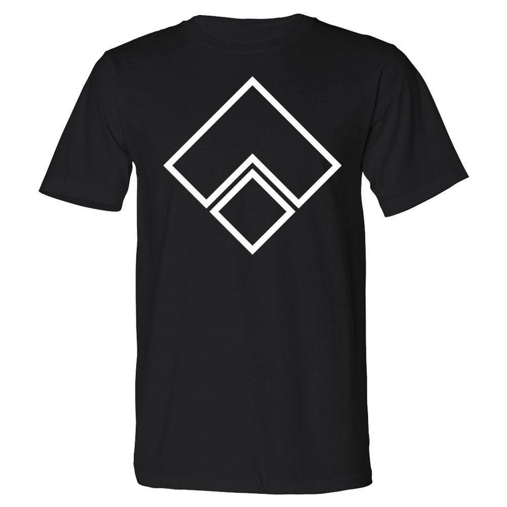 The L Plus Square Geometric Organic T-Shirt