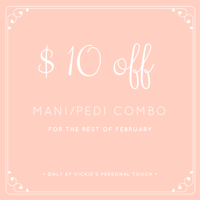Get Your Nails Ready For Valentines Day With Any Mani Pedi Combo And Receive 10 Off Just By Mentioning This Post Mani Pedi Spa Valentine Spa Spa Specials