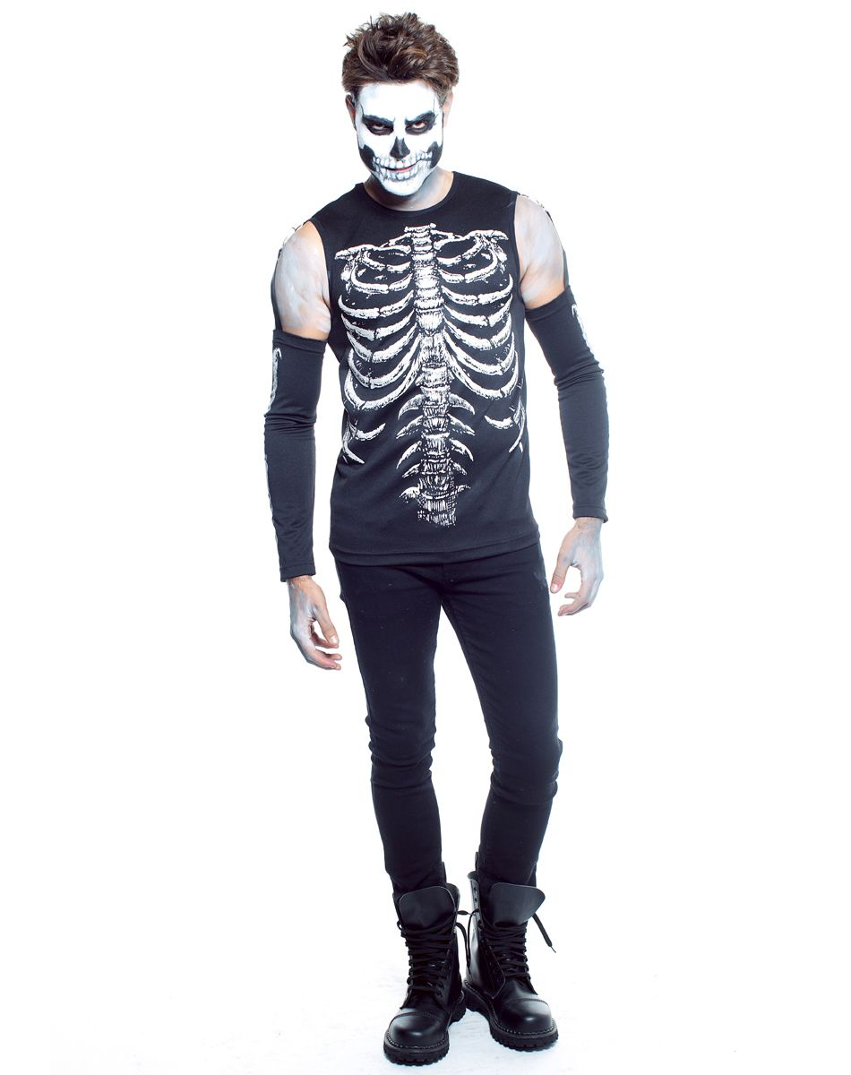 Skele Tony Adult Mens Costume Spirit Halloween Party