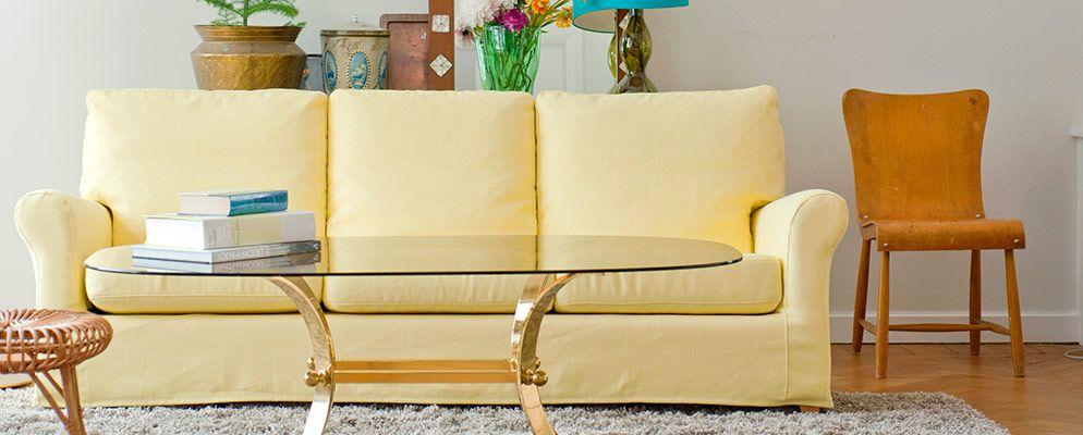 Custom Slipcovers For Your Ikea Furniture--designer Fabric