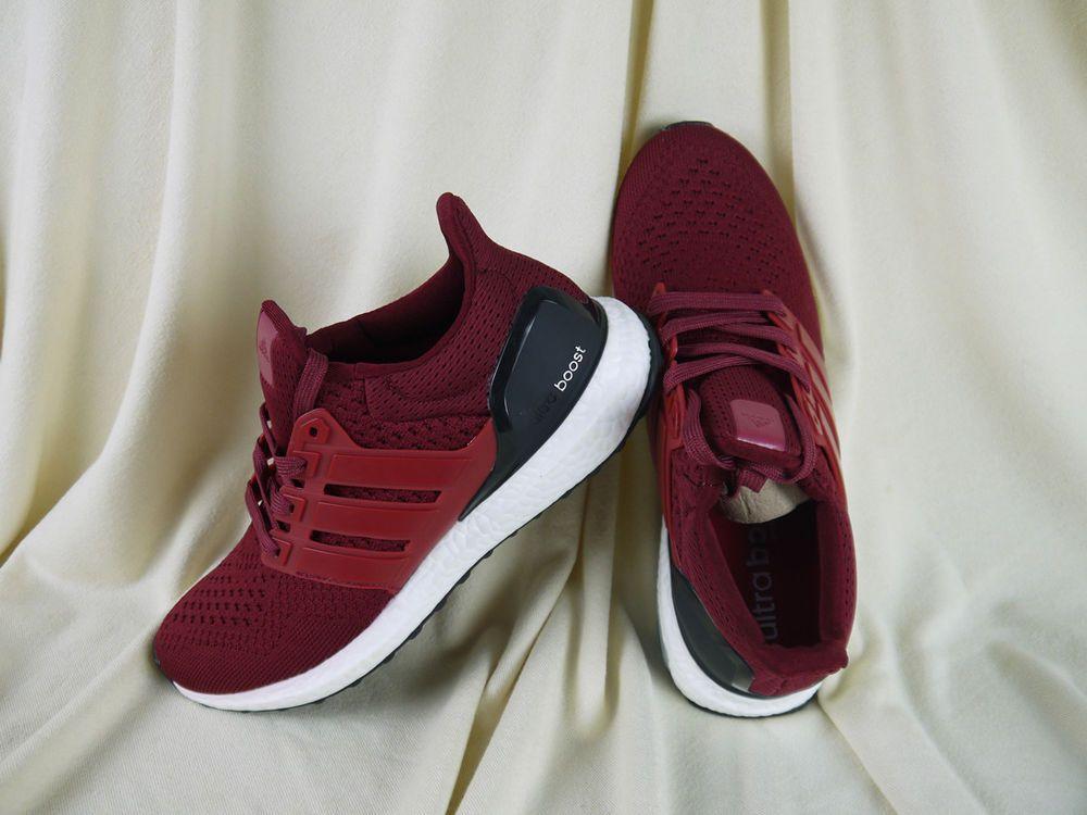 80ddd35d6 NIB Adidas Ultra BOOST AF5836 Burgundy (1.0) Size 10 Burgundy Maroon   fashion