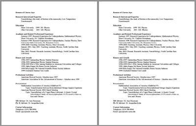 Undergraduate math and physics cv free cv template by hloom undergraduate math and physics cv free cv template by hloom pronofoot35fo Images
