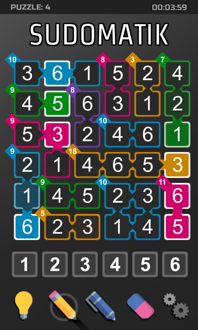 Killer Sudoku App