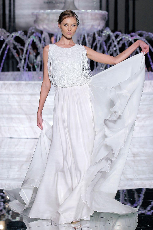 Atelier Pronovias 2018 wedding dress with fringe - http ...