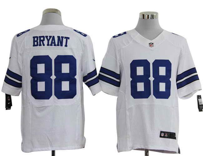 59c0cc916 Size 60 4XL Dallas Cowboys  88 Dez Bryant White Stitched Nike Elite NFL  Jerseys.