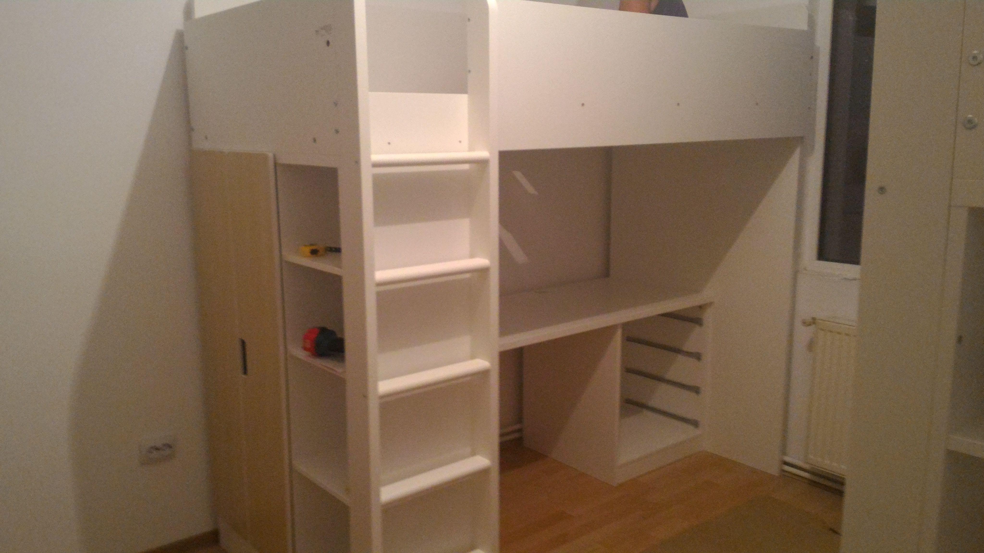 mirroring an ikea loft bed stuva ideas for the house pinterest hochbetten. Black Bedroom Furniture Sets. Home Design Ideas
