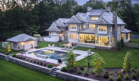Custom Luxury Colonial in New Canaan, CT 06840 by