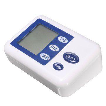 Intellisense Digital Automatic Upper Arm Blood Pressure Monitor Heart Beat Meter Sphygmomanometer at Banggood