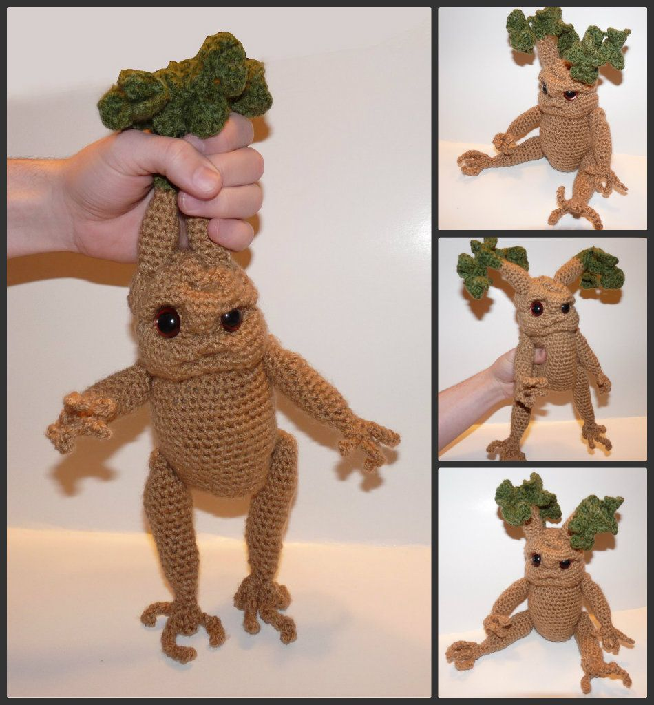 Mandrake Seedlings - crochet doll abd pattern Available in my Etsy Shop - Harry Potter