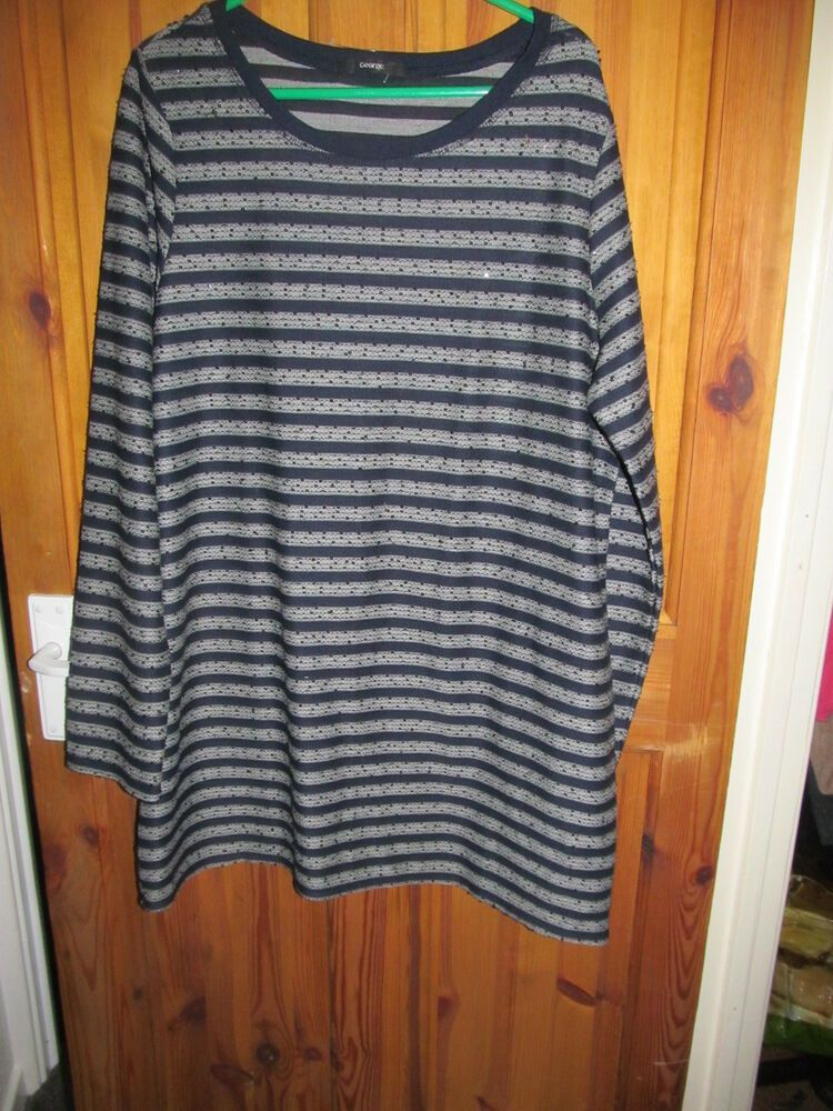 63ffda04b48 long striped sequin top size 18 #fashion #clothing #shoes #accessories  #womensclothing #tops (ebay link)