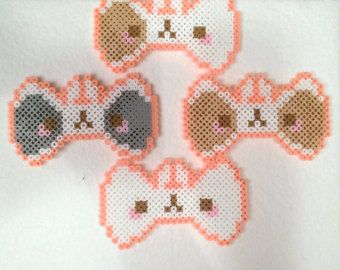 Molang Perler Google Search Cross Stitch Embroidery Bear