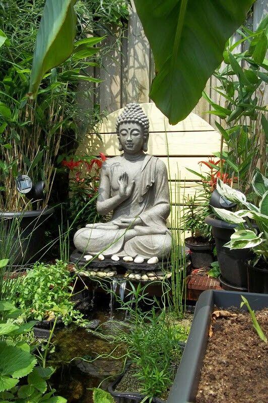 my garden buddha buddha pinterest buddha deko. Black Bedroom Furniture Sets. Home Design Ideas