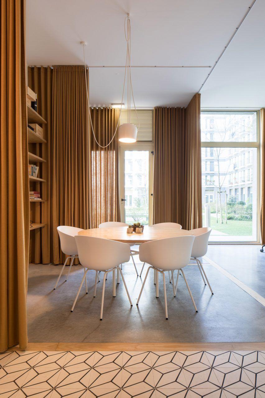 Home design bildergalerie vorhänge getrennte räume von lissabon büro für eine