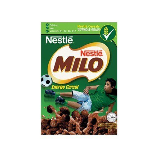 Chocolate Milo Whole Grain Cereals 170 G(2 Packs) (With