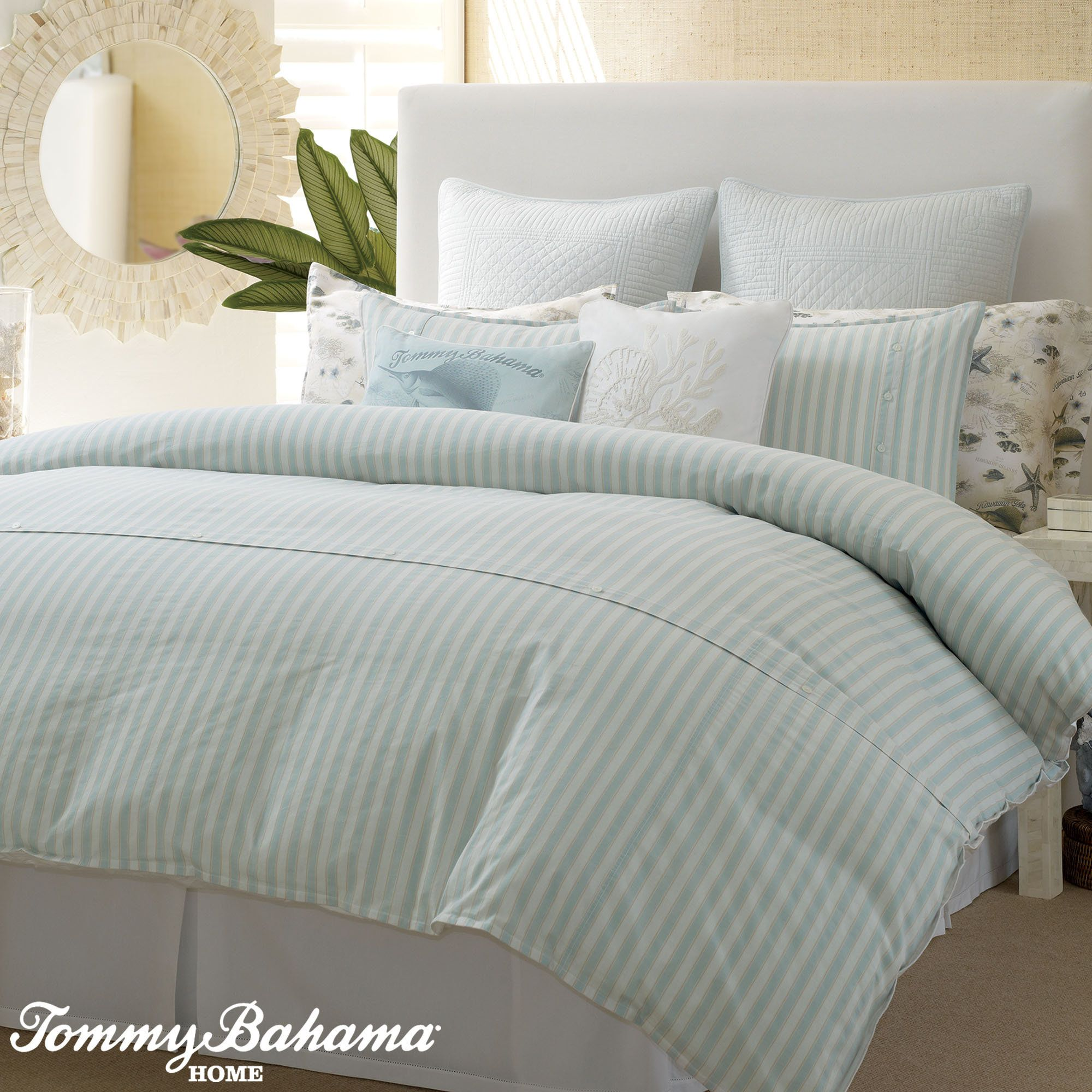 today overstock bahama tommy free shoreline shipping product tan set comforter bedding bath woven king