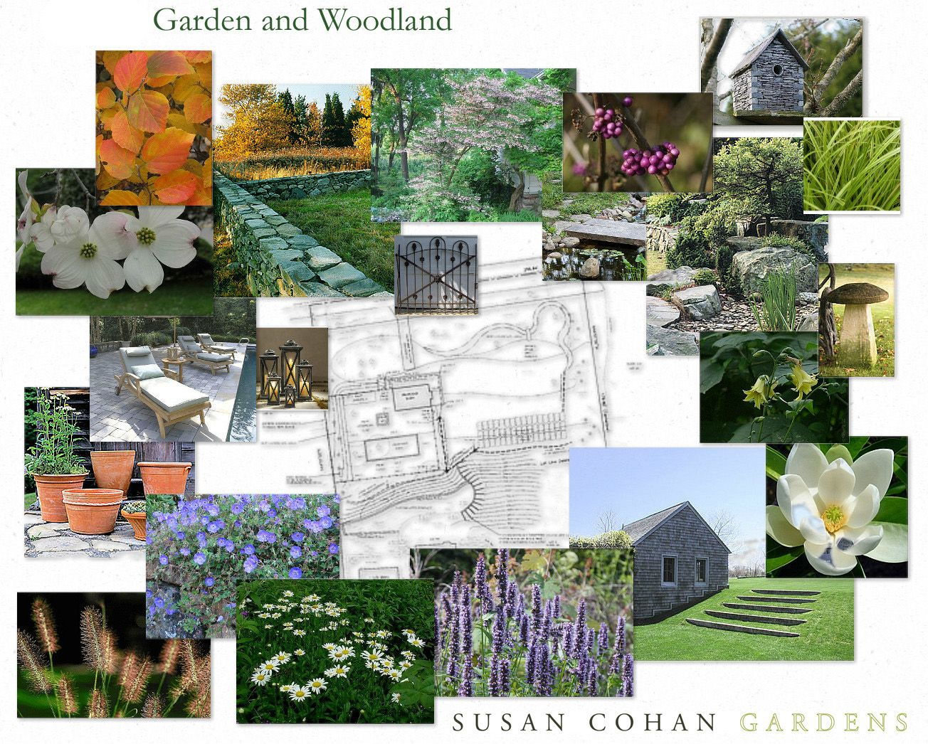 Landscaping Ideas For Gardens Concept Fascinating Love To Start Doing Moodboards And Susan's Is Perfect Design . Decorating Inspiration